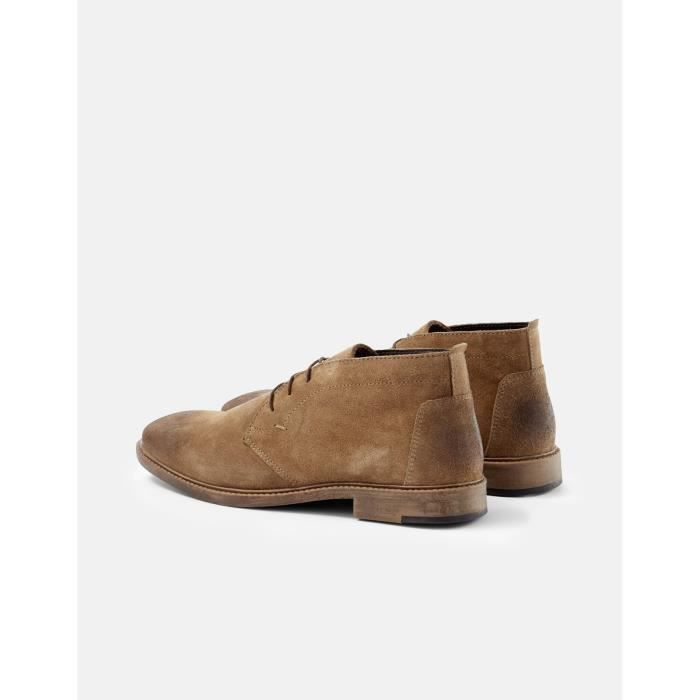 Boots en cuir - taupe 7jOX9