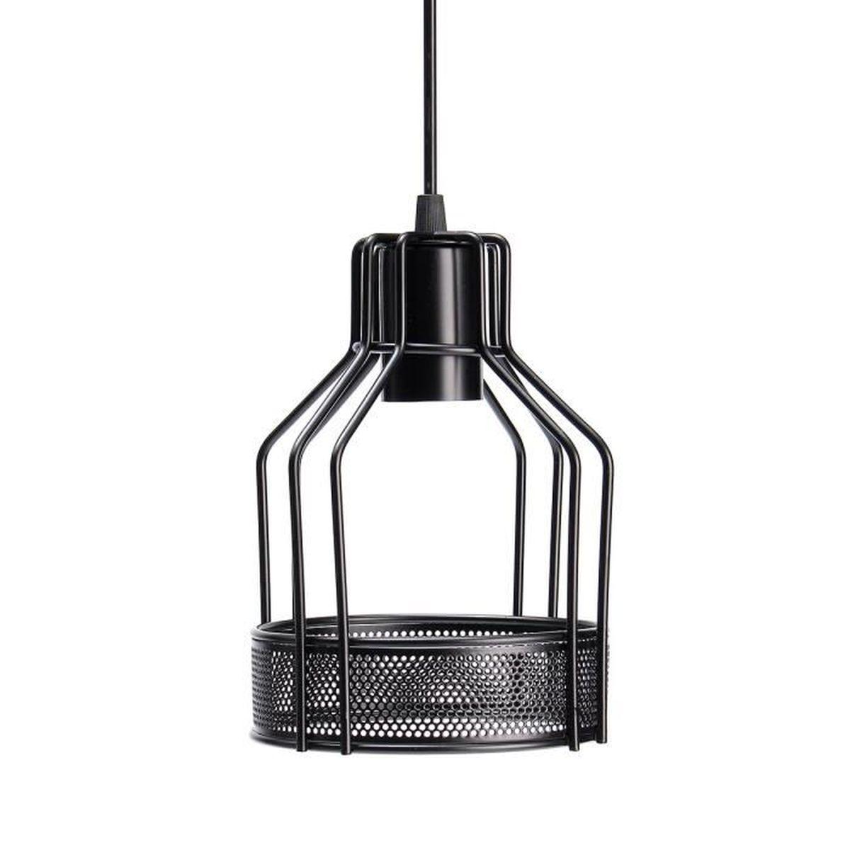 TEMPSA 32cm Abat-jour suspension Vintage plafond Lampe Lustre E32 ... - Suspension Plafond