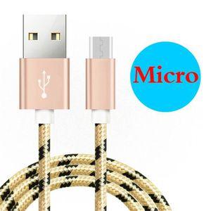 CÂBLE TÉLÉPHONE [1 M] Câble Micro USB Pour Asus Zenfone 2 Laser ZE
