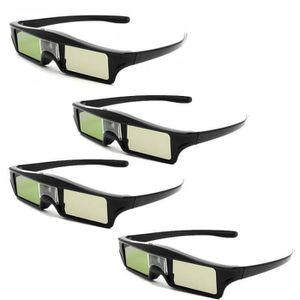 LUNETTES 3D 4x 144Hz Lunettes 3D Active pour BenQ Samsung 3D D