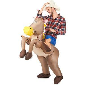 DÉGUISEMENT - PANOPLIE Déguisement cheval gonflable adulte