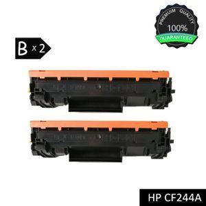 TONER 2 pack CF244A (HP 44A) Noir Cartouche de toner com