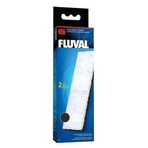 FILTRATION - POMPE FLUVAL 2 filtres polycarbone A475 - Pour aquarium