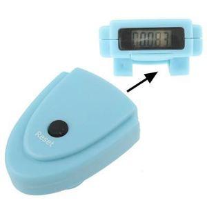 PODOMÈTRE Mini Podomètre électronique (bleu)