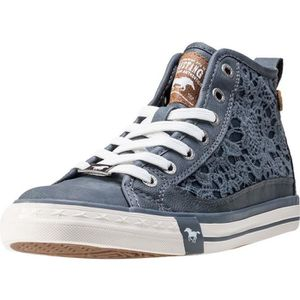 BASKET Mustang High Top With Embroidery Femmes Baskets Sk