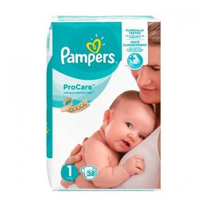 COUCHE Pampers ProCare Premium Protection Taille 1 (2-5 k
