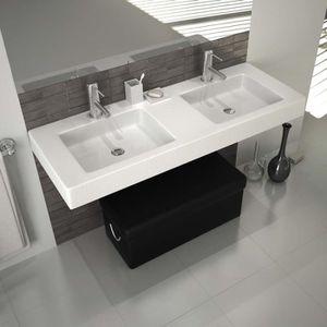vasque a poser 120 cm achat vente vasque a poser 120 cm pas cher cdiscount. Black Bedroom Furniture Sets. Home Design Ideas