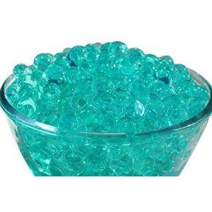 BILLES - PERLES DÉCO 10 paquets de Turquoise Aqua Bleu Eau Cristal Sol