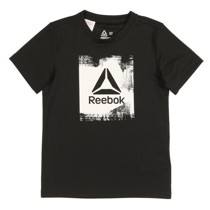 REEBOK T-shirt Wor - Enfant garçon - Noir