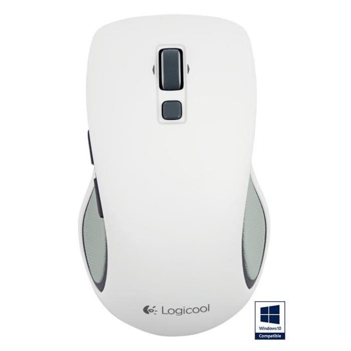 LOGITECH souris sans fil - M560 Blanc