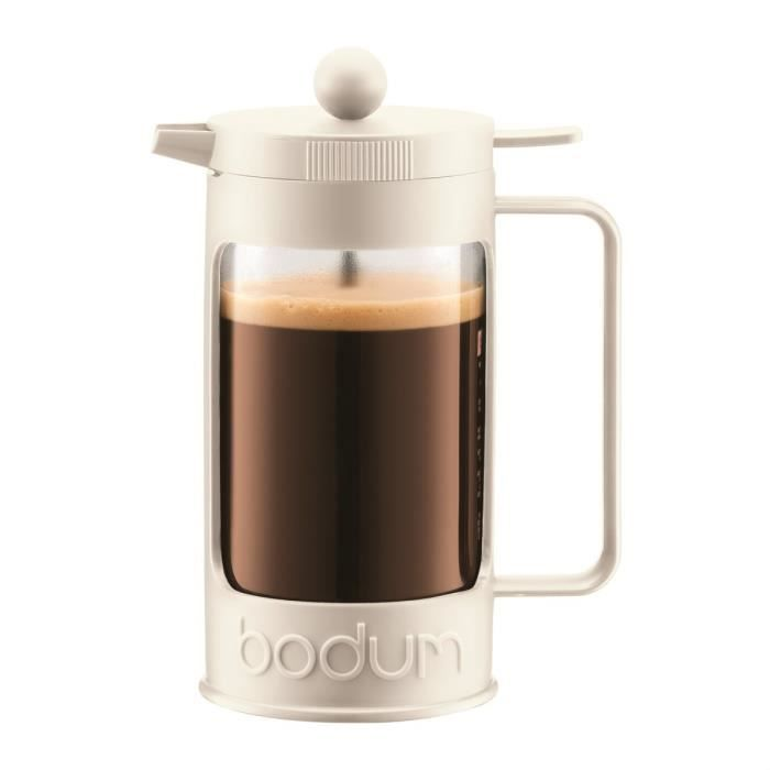 BODUM BEAN Cafetière piston 3 tasses/0,35L blanc