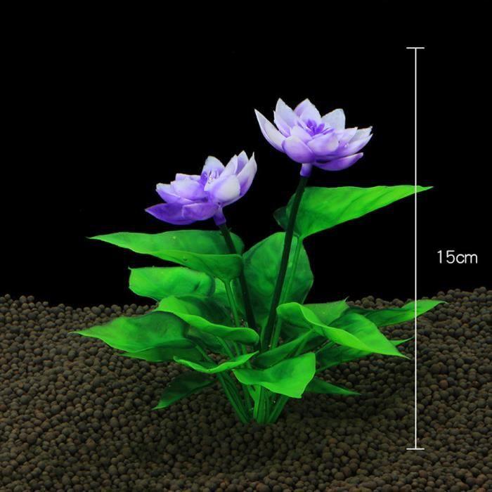 Aneiores®6pcs Usine De Décoration En Plastique D'aquarium Plantes Vertes D'herbe D'ornement Lsm71110652b