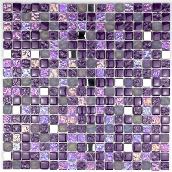 Mosaique en verre pour douche et salle de bain mv- - Achat / Vente ...
