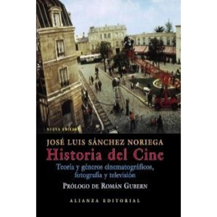 DVD FILM Livre en espagnol -Historia del cine.