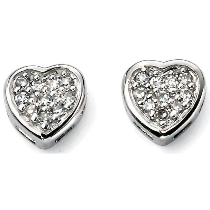 Mon-bijou – D910 - Boucle doreille diamant en ...