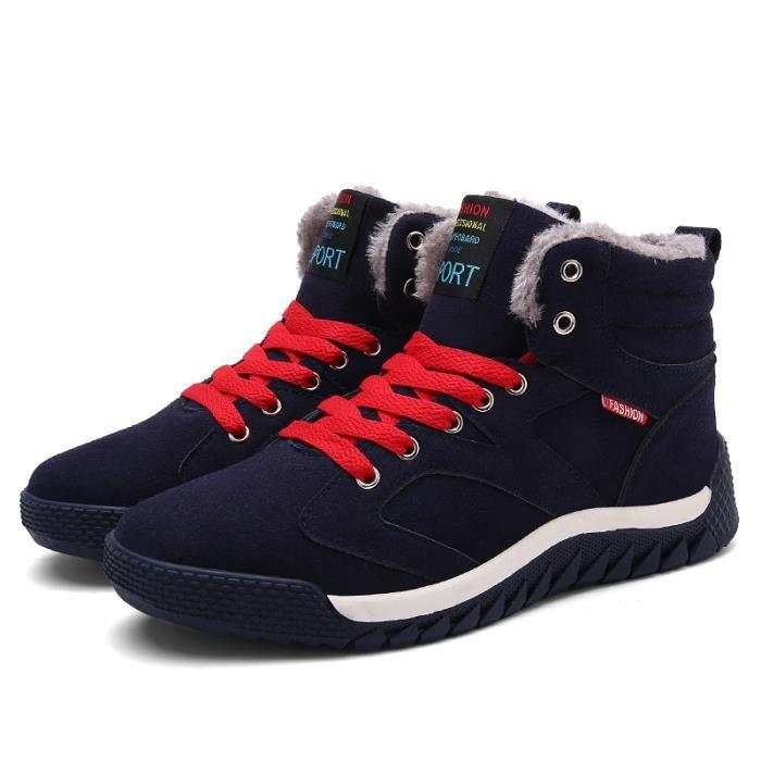 Baskets homme Bottes hiver bottes de coton pour hommes bottes de neige 7irxUyU