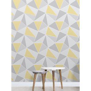 papier peint geometrique achat vente pas cher. Black Bedroom Furniture Sets. Home Design Ideas