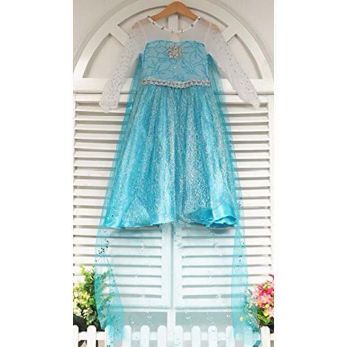 Robe inspirée glacée 120cm