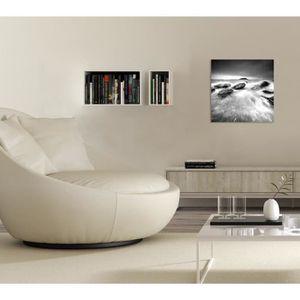 tableau mer noir et blanc achat vente tableau mer noir et blanc pas cher soldes d s le 10. Black Bedroom Furniture Sets. Home Design Ideas