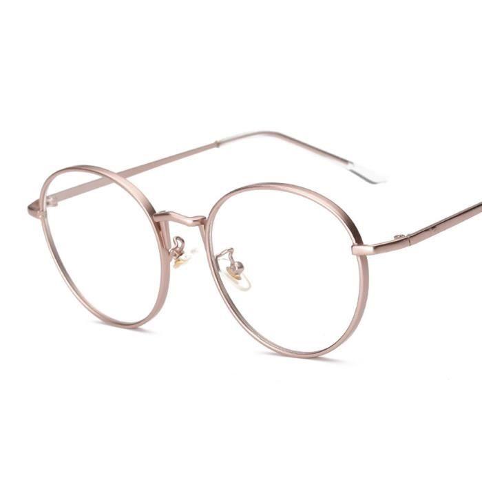 Lunettes claires An métalFrame lentilles Myopie 1365Hommes Lunettes lunettes Femmes Lunettes rose HHawg