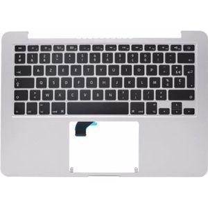 CLAVIER D'ORDINATEUR Topcase+clavier FR français pour MacBook Pro Retin
