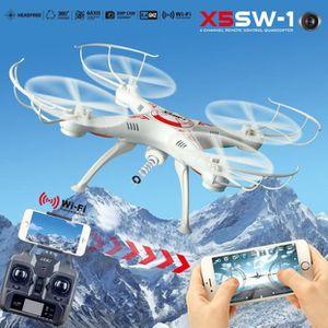 DRONE NGH60809105®Cadeau X5SW-1 Wifi FPV RTF 2.4G 4CH RC
