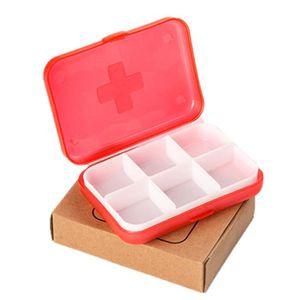 BOITE DE RANGEMENT Organisateur portatif de caisse de médecine de boî