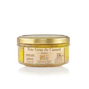 FOIE GRAS Foie Gras de Canard entier en conserve 130 g