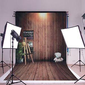 FOND DE STUDIO 150x210CM Fond De Studio Vintage Bois Plancher Pap