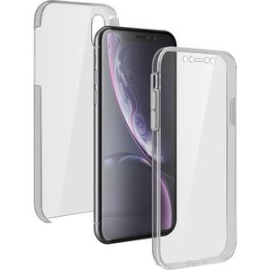 COQUE - BUMPER Coque Apple iPhone XR Protection 360° Silicone + P