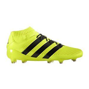 Chaussures football adidas ACE 16.1 Primeknit FG Jaune