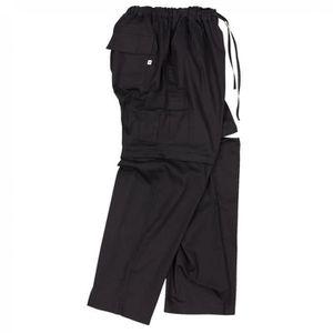 PANTALON Pantalon Zip-off noir by Abraxas grandes tailles j