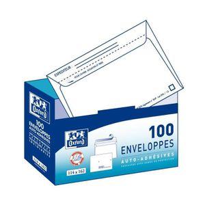 ENVELOPPE OXFORD 100 enveloppes distributeur pré-casées - 11
