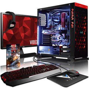 UNITÉ CENTRALE + ÉCRAN VIBOX Armageddon GM760-129 PC Gamer Ordinateur ave