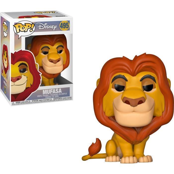 FIGURINE - PERSONNAGE Figurine Funko Pop! Disney: Le Roi Lion - Mufasa