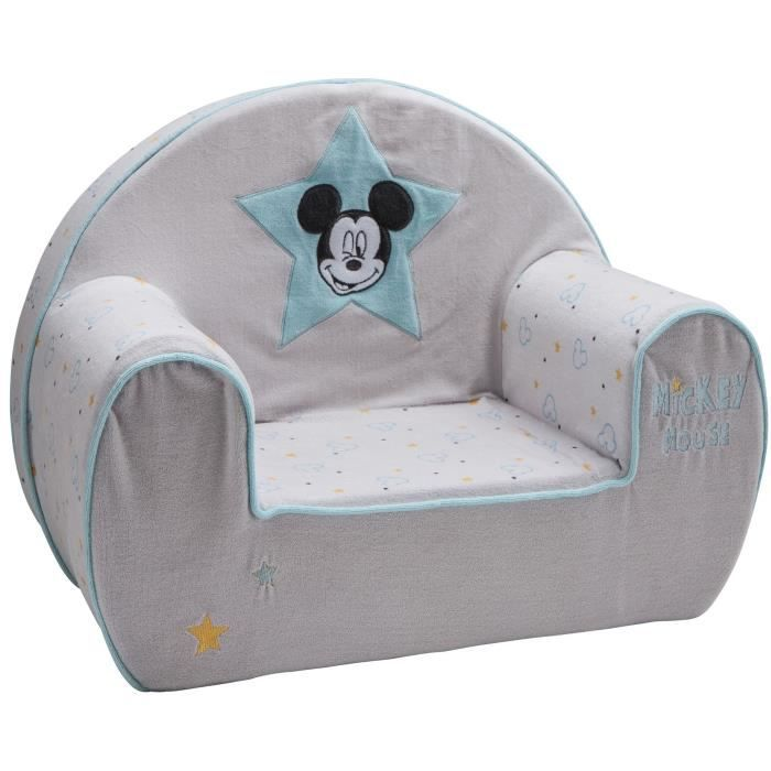 DISNEY BABY Mickey My Story fauteuil club déhoussable - 25 cm