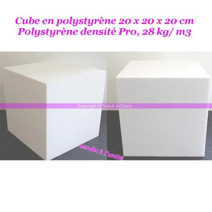 cube polystyrene achat vente cube polystyrene pas cher cdiscount. Black Bedroom Furniture Sets. Home Design Ideas