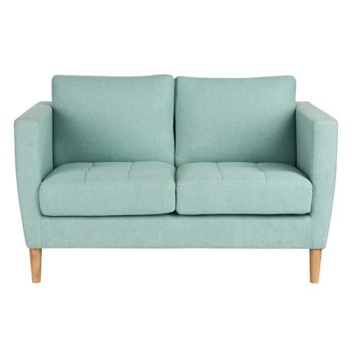canap tissu bleu achat vente canap tissu bleu pas cher soldes d s le 10 janvier cdiscount. Black Bedroom Furniture Sets. Home Design Ideas