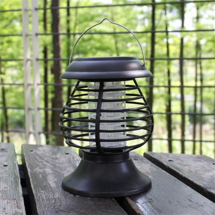 ANTI-MOUSTIQUE Tueur solaire de jardin de lumière tueur d'insecte