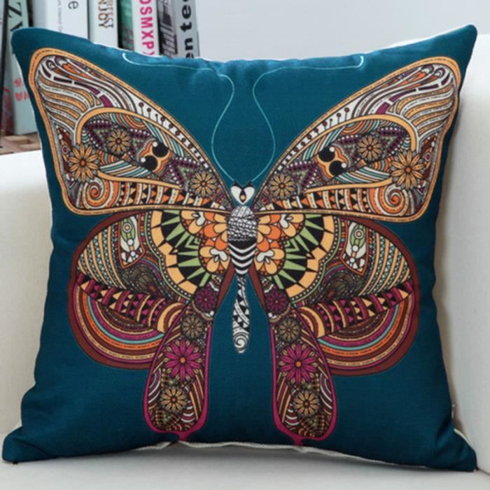coussin ethnique achat vente coussin ethnique pas cher soldes d s le 10 janvier cdiscount. Black Bedroom Furniture Sets. Home Design Ideas