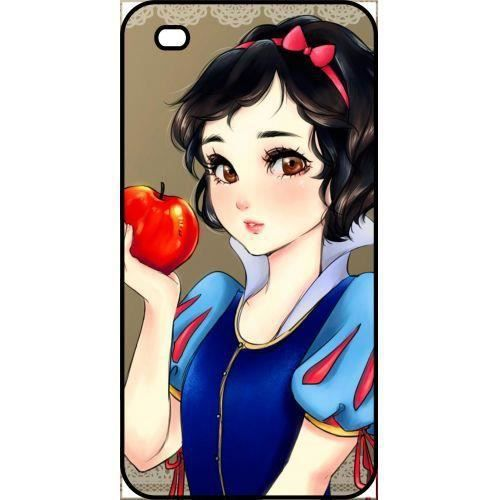 coque blanche neige iphone xr