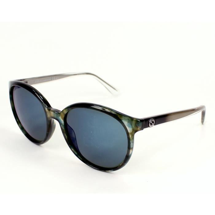 Lunettes de soleil Gucci GG 3697-S -H6223 Vert - Havane Vert - Achat ... 18b21fe56d7f