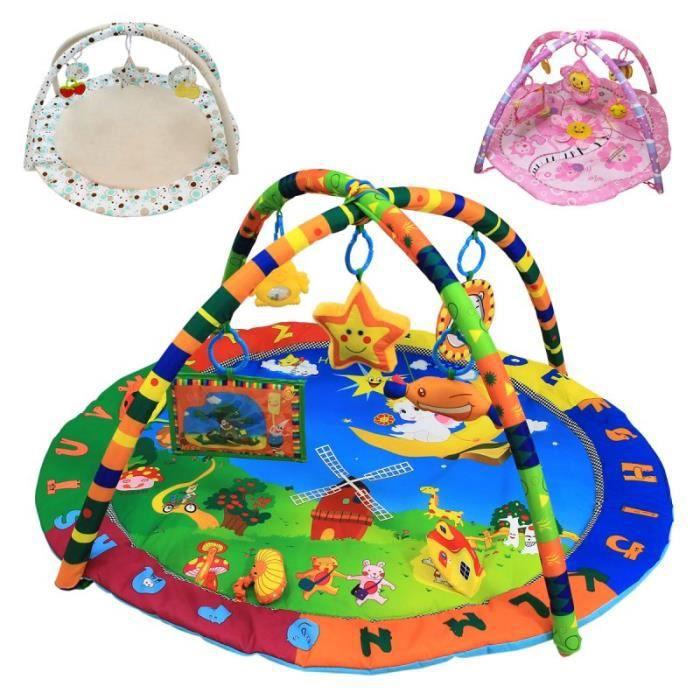 9b06df42976474 Tapis d éveil bébé éducatif et musical + jouets - Petit Ange Vert ...