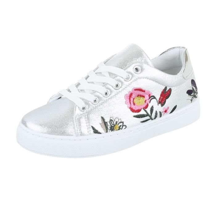 Femme chaussures loisirs chaussures Sneakers chaussures de sport noir rose 40 zcgRHwKeXZ