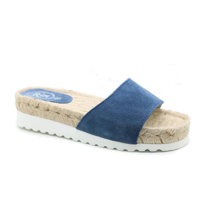 Femme - Sandale bios - BNK - BNK 12802 - Azul marino - (35)