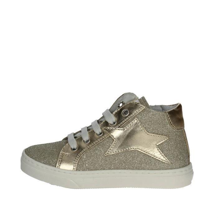 Ciao Bimbi Haute Sneakers Fille Platine , 32