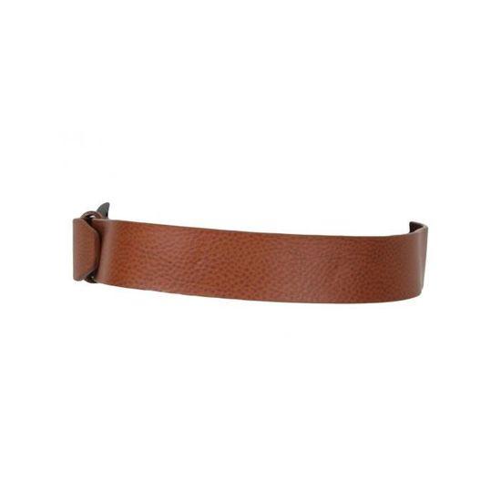 RG512 - Ceinture Cuir Homme Marron - Achat   Vente ceinture et boucle -  Cdiscount 62a9b495e6a