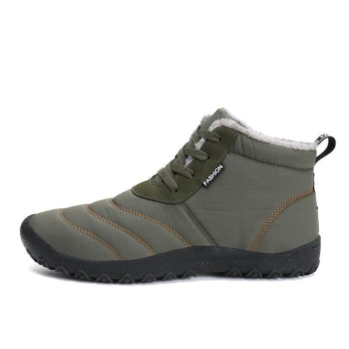 1 1 1 de fourrure « Chaussures 44 air de 2 Taille Doublé d'hiver en d38049