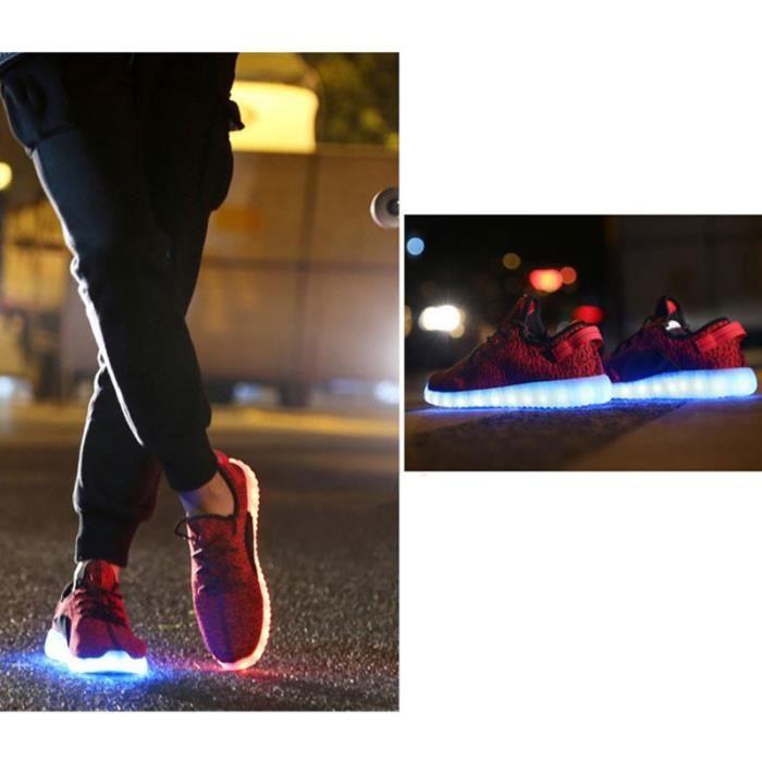 7 Changement de couleur d'éclairage LED clignot...