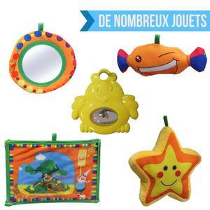 0668f1a72dec80 ... TAPIS ÉVEIL - AIRE BÉBÉ Tapis d éveil bébé éducatif et musical + jouets  -
